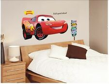 Removable Wall Sticker Movie Cars Lightning McQueen Kids Mural PVC Decals Decor