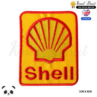 Shell Racing Sponsor Logo Embroidered Iron On Sew On PatchBadge For Clothes etc