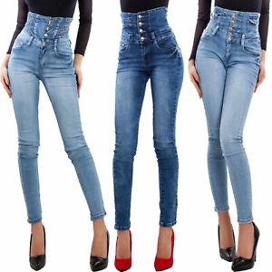 Jeans donna vita alta skinny slim elasticizzati pantaloni denim TOOCOOL XM-1016