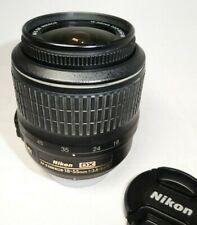 Nikon DX Zoom Nikkor 18-55mm F/3.5-5.6 AF-S DX VR G Lens