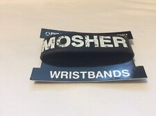 Mosher rubber wristband in black