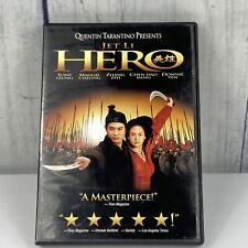 Hero Dvd Movie Jet Li Quentin Tarantino