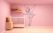 Wall Room Vinyl Sticker Mural Decal Peter Pan Fairy Magic Tinker Bell O153