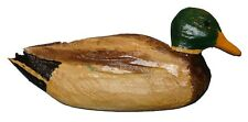 Chainsaw Carving Mallard Carved Duck Drake Goose Gander Call Slate Art 1 14363