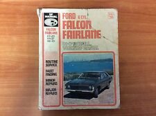 Ford 6 CYL. Falcon FairLane - Do-It-Yourself... Workshop Manual Series No 155