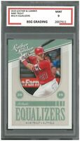 MIKE TROUT #EQ-4 2019 Panini Leather & Lumber Equalizers ~ BSG 9