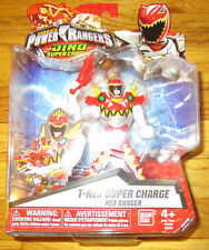 POWER RANGERS DINO SUPERCHARGE T-REX SUPER CHARGE RED RANGER CARNIVAL MODE TYLER