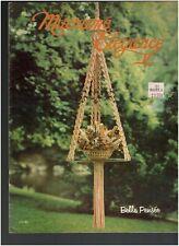 1979 Macrame Elegance Pattern Book