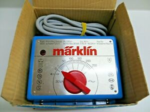 Märklin Throttle Control 6631 Transformer 30 VA First Class Tested Without Boxed