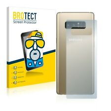2x Film Protection Mat pour Samsung Galaxy Note 8 (Arrière) Protecteur Ecran