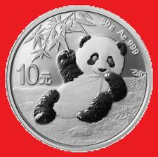 2020 30g Silver Chinese Panda Bullion Coin in coin capsule