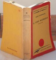JAKOB WASSERMANN IL CASO MAURIZIUS ROMANZO COMPLETO 1945 EBRAICA