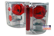 Set of Pair Chrome Taillights for 1973-1987 GMC Chevy C/K C10 Full Size Truck