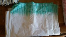 "Pottery Barn Teen ""Aqua Tie-Dye"" Twin Flat Sheet"