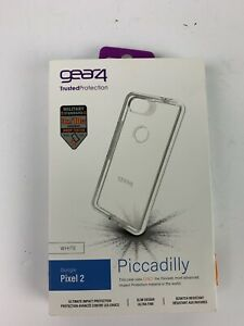 Gear4 D3O Piccadilly Series Case for Google Pixel 2 - Clear/White