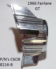 1966 Fairlane GT Grille Center Ornament P/N's C6OB-8216-B Original O.E.M.