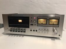 Vintage Sharp Stereo Cassette Deck Rt-1157 - Tested Working