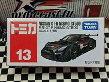 TOMICA #13 NISSAN GT-R NISMO GT500 1/65 SCALE NEW IN BOX