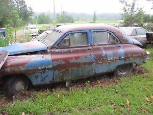 49 PACKARD LEFT DRIVER SPINDLE KNUCKLE BARE 1949
