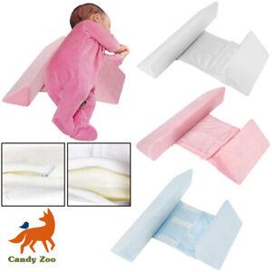 Newborn Baby Shape Styling Pillow Anti-roll Adjustable Side Sleep Cushion UK