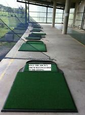 Commercial Quality GOLF DRIVING MAT - Range size 100 x 150cm - synthetic grass%$