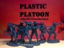 NEW!! PLASTIC PLATOON,7th CAVALRY REGIMENT, CUSTER, rubber soldiers 1:32