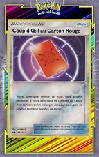 Coup d'Oeil au Carton Rouge Reverse-SL4 - 97/111 - Carte Pokemon Neuve Française