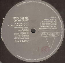 2 In A Room ‎– She's Got Me Va Crazy - Bull & Butcher ‎– BB 2009 MX Ita 1991