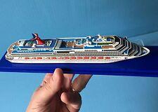 1:1250 scale CARNIVAL SPLENDOR cruise ship MODEL ocean liner waterline, Scherbak