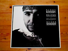 EMI Digital LP Nigel Kennedy/Klaus Tennstedt/Lon Phil/Brahms Violin Concert