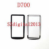 NEW Top Outer LCD Display Window Glass Cover (Acrylic)+TAPE For Nikon D700