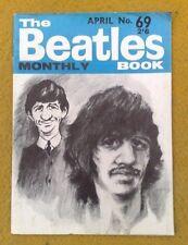 Super Original UK Beatles Monthly Buch #69 April1969