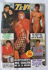 TeVe GUIA, PUERTO RICO, IRIS CHACON, JERRY RIVERA, COMO TV Y NOVELAS, TV NOTAS