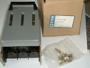 Lasttrenner max. NH00 3x125A  EFEN