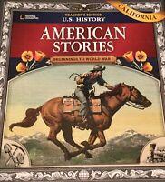 Nat Geo U.S. History American Stories Beginnings - World War I Teacher Edition