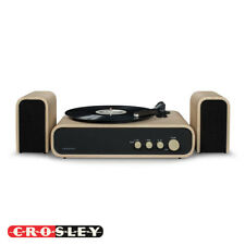 Crosley CR6035A-NA GIG Bluetooth Record Player Turntable Natural w/ Speakers