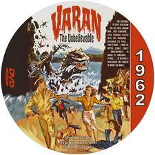 "Varan the Unbelievable (1962) Sci-Fi and Horror ""B"" NR CULT Movie DVD"