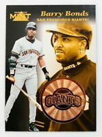 Barry Bonds #18 (1997 Pinnacle Mint) Bronze Collection, San Francisco Giants