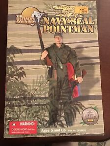 21st Century Toys Ultimate Soldier Navy Seal Pointman 2001
