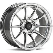 15X7 Advanti Racing Storm S1 4X100 +35 Titanium Wheels (Set of 4)
