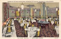Linen Postcard Dining Room at Oliver Hotel in South Bend, Indiana~126672