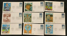 1983 VINTAGE ORIGINAL BABE RUTH FIRST DAY COVER LOT (9) #3