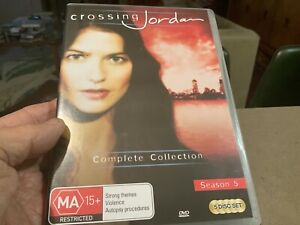 CROSSING JORDAN COMPLETE COLLECTION SEASON 5 DVD SET NEW Rare