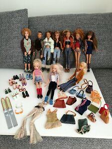 MY SCENE 10 Puppen Konvolut mit Zubehör
