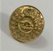 Military Uniform Button - 1901-1924 CANADA MiMILITIA 22e Regiment w/ Beaver