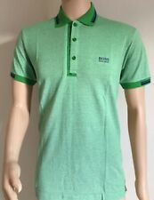 Men's Hugo Boss Short Sleeve Polo Shirt Green Size-XXL RRP £75