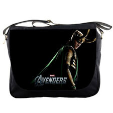School Messenger Bag Loki The Avengers Shoulder Travel Notebook Bags
