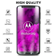 100% Genuine chiaro vetro temperato schermo per Motorola MOTO G6 Plus