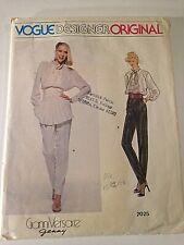 Vogue Paris Original Pattern 2025 Size 8 Gianni Versace Uncut New Old Stock