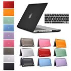 Rubberized Hard Shell Case Cover Keyboard Macbook Air 11/13 Pro 13/15 Retina 12